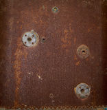 Old rusty surface of a boiler Stock Photos