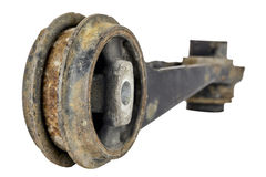 Old and rusty suspension link Royalty Free Stock Photos