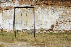 Old rusty swing for children Royalty Free Stock Photography