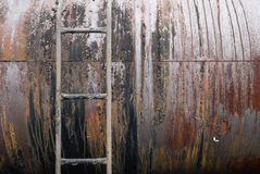 Old Rusty Tanker Royalty Free Stock Photography