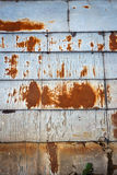 Old rusty tin roof Royalty Free Stock Photo
