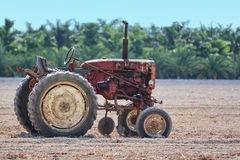 Old rusty tractor Stock Photography