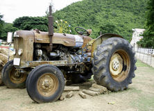 Old rusty tractor Royalty Free Stock Image