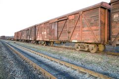 Old rusty train Royalty Free Stock Photos