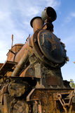 Old rusty train royalty free stock images
