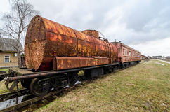 Old rusty train Royalty Free Stock Photo