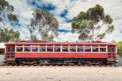 Old rusty tram Royalty Free Stock Photos