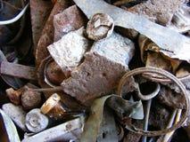 Old rusty treasure Royalty Free Stock Photos