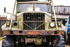 Old rusty truck. Image of old rusty truck surface Royalty Free Stock Image