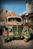 Old rusty truck in Nelson Ghost town, USA Stock Photo