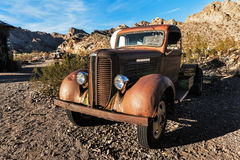 Old rusty truck in Nelson Ghost town, USA Royalty Free Stock Photos