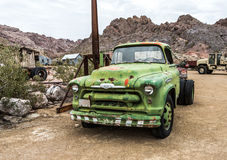 Old rusty truck in Nelson Nevada ghost town Royalty Free Stock Photography