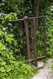 Old rusty turnstile Stock Photography
