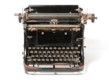 Old rusty typewriter Stock Photography