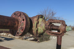 Old rusty valves Royalty Free Stock Image