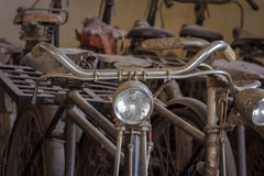 Old rusty vintage bicycle. Royalty Free Stock Photography