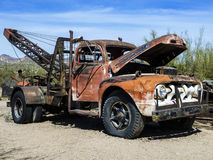 Old Rusty Vintage Cars In Goldfield Stock Photo