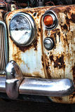 Old rusty vintage classic car Stock Photos