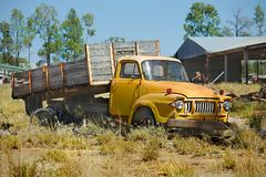 Old rusty vintage turck Royalty Free Stock Images