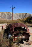 Old rusty Volkswagen Royalty Free Stock Photo