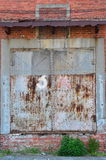 Old Rusty Warehouse Doors Royalty Free Stock Image