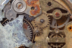 Old rusty watch Stock Image