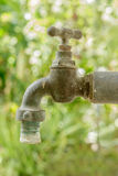 Old rusty water tap Stock Photography