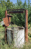Old rusty Water Well Stock Image
