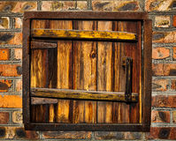 Old rusty weathered window Royalty Free Stock Image