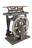 Old rusty weighing scale Royalty Free Stock Images