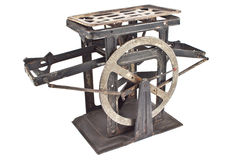 Old rusty weighing scale Royalty Free Stock Photo