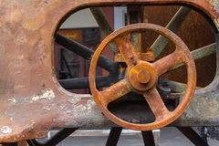 Old rusty wheel Royalty Free Stock Photography