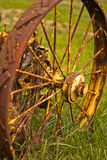 Old Rusty Wheel Stock Photo