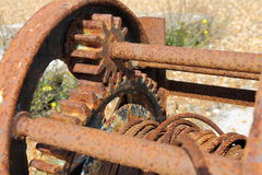 Old Rusty Winch Stock Images