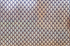 Old rusty wire mesh texture Royalty Free Stock Photos