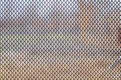 Old rusty wire mesh texture Royalty Free Stock Images
