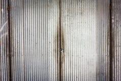 Old rusty zinc door Royalty Free Stock Photos