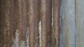 Old rusty zinc Stock Photos
