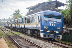 Old s9 train in srilanka Stock Photography