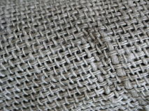 Old sack cloth. Taken at a old factory Royalty Free Stock Photography