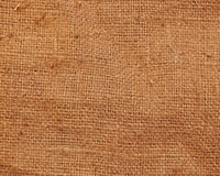 Old sack cloth canvas texture Stock Images
