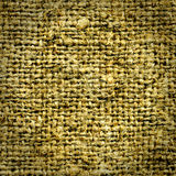 Old sack material Royalty Free Stock Image