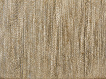Old sackcloth texture background Stock Photos