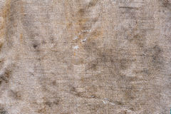 Old sacking fabric texture Royalty Free Stock Photo