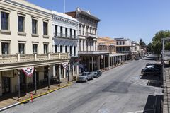 Old Sacramento California Stock Photography