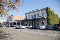 Old Sacramento Royalty Free Stock Photography