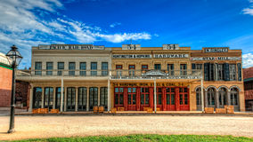 Old Sacramento historic buildings Royalty Free Stock Photo
