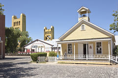 Old Sacramento state historic park California. Stock Images