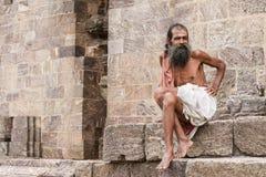 Old sadhu Stock Image