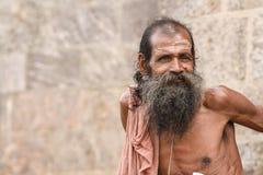 Old sadhu Stock Images